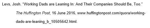 mla website citation example