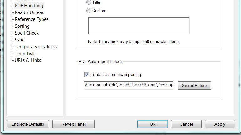 Importing and managing PDF files - EndNote - Library guides at