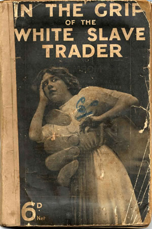 Cover image of In the Grip of the White Slave Trader