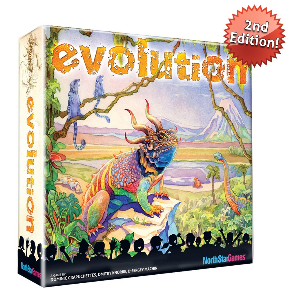 Evolution box cover art