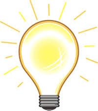 Lightbulb -lit up