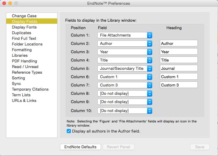 EndNote Basics (Mac version) - EndNote - LibGuides at Oregon