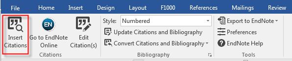 Insert Citation