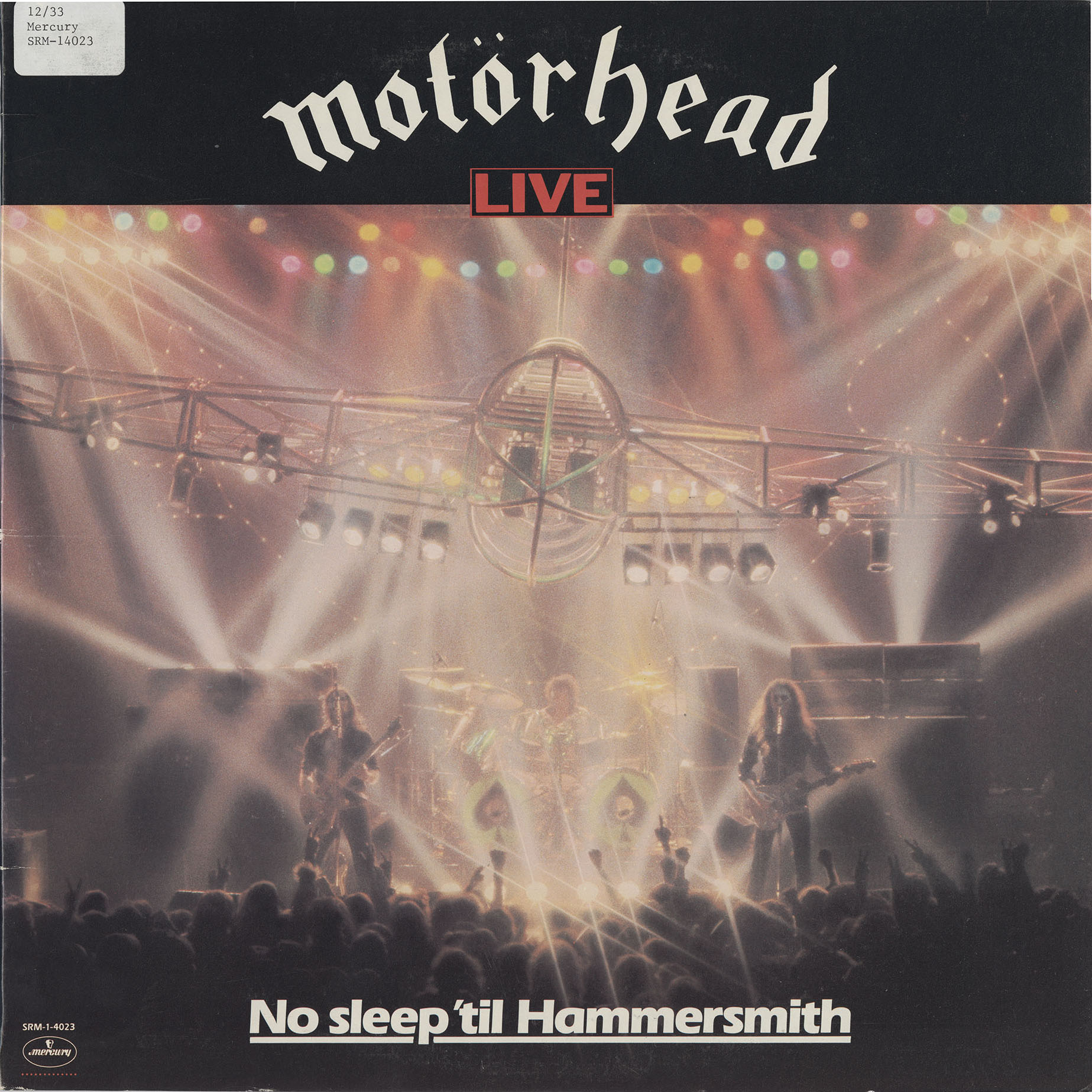 No Sleep 'til Hammersmith Cover