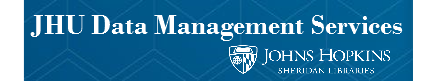 Profile photo of JHU Data Management Services