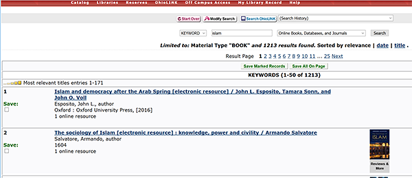 Search results for ebooks in the library catalog