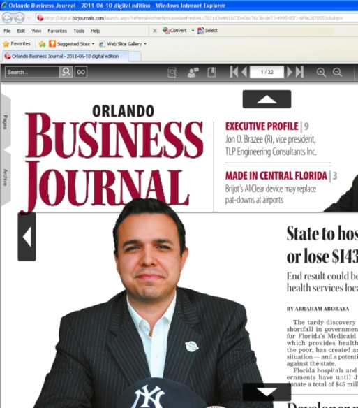 Orlando Business Journal Online Edition