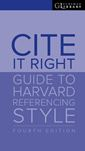Cite It Right 4th Edition Print Cover