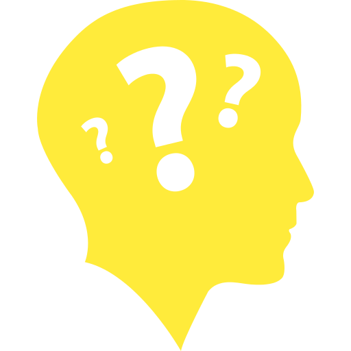head with question mark