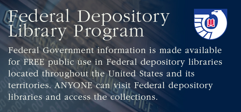image of the federal depository logo
