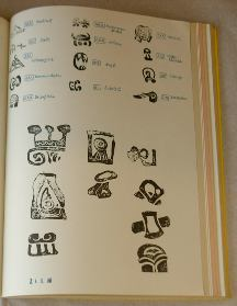 Photo of book; one page shot