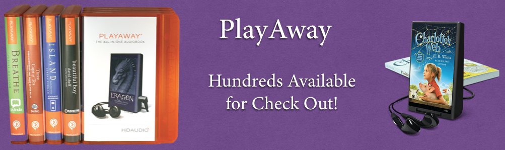PlayAway Audio Books