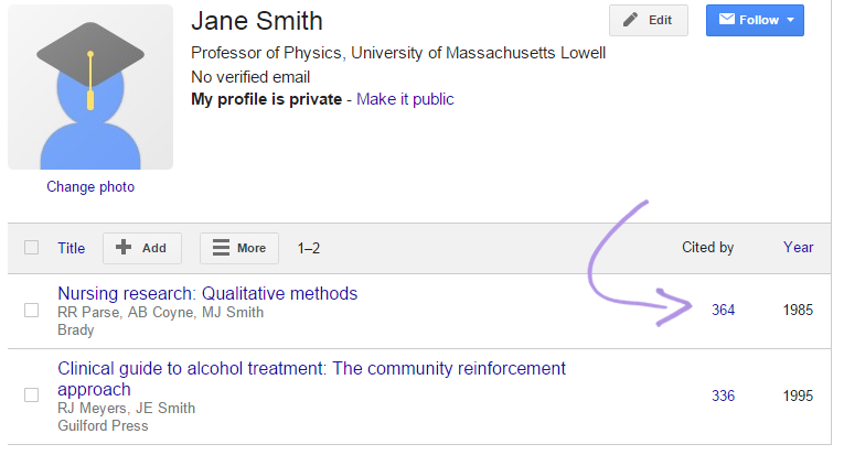 Tracking Citations How To Use Google Scholar Libguides