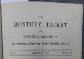 The Monthly Packet No. 1 1851