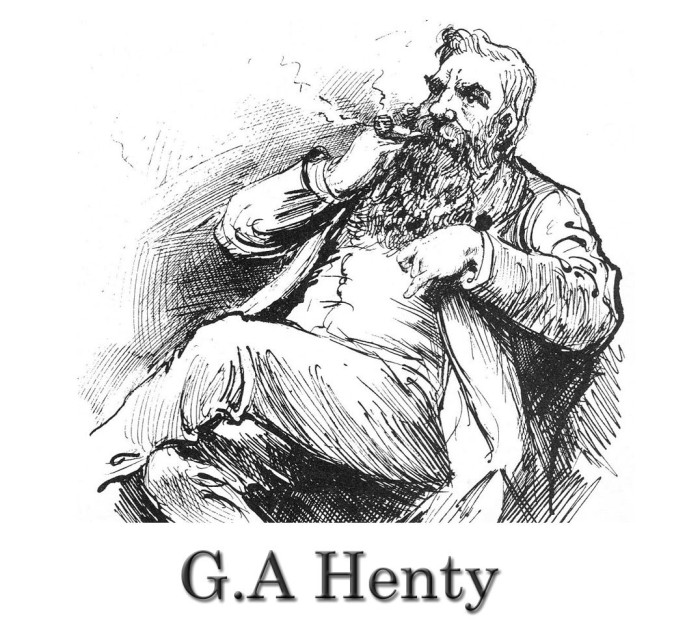 G.A.Henty cartoon
