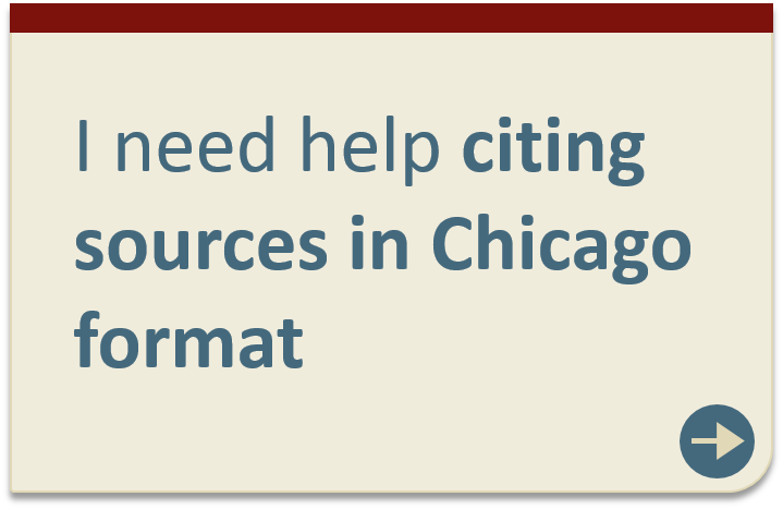 Citing sources in Chicago format