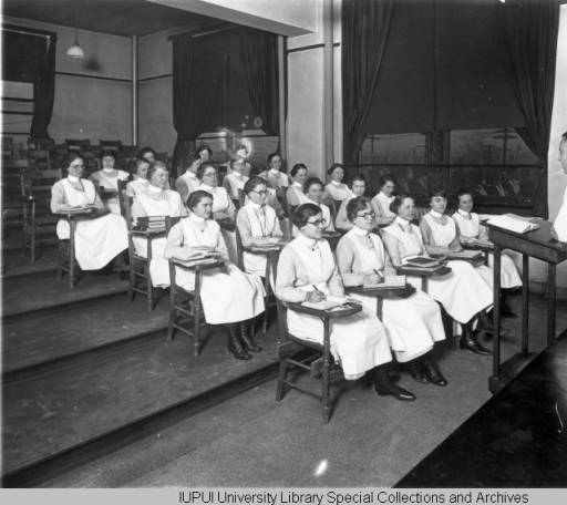 Nursing Class with Dr. Batman, 1922