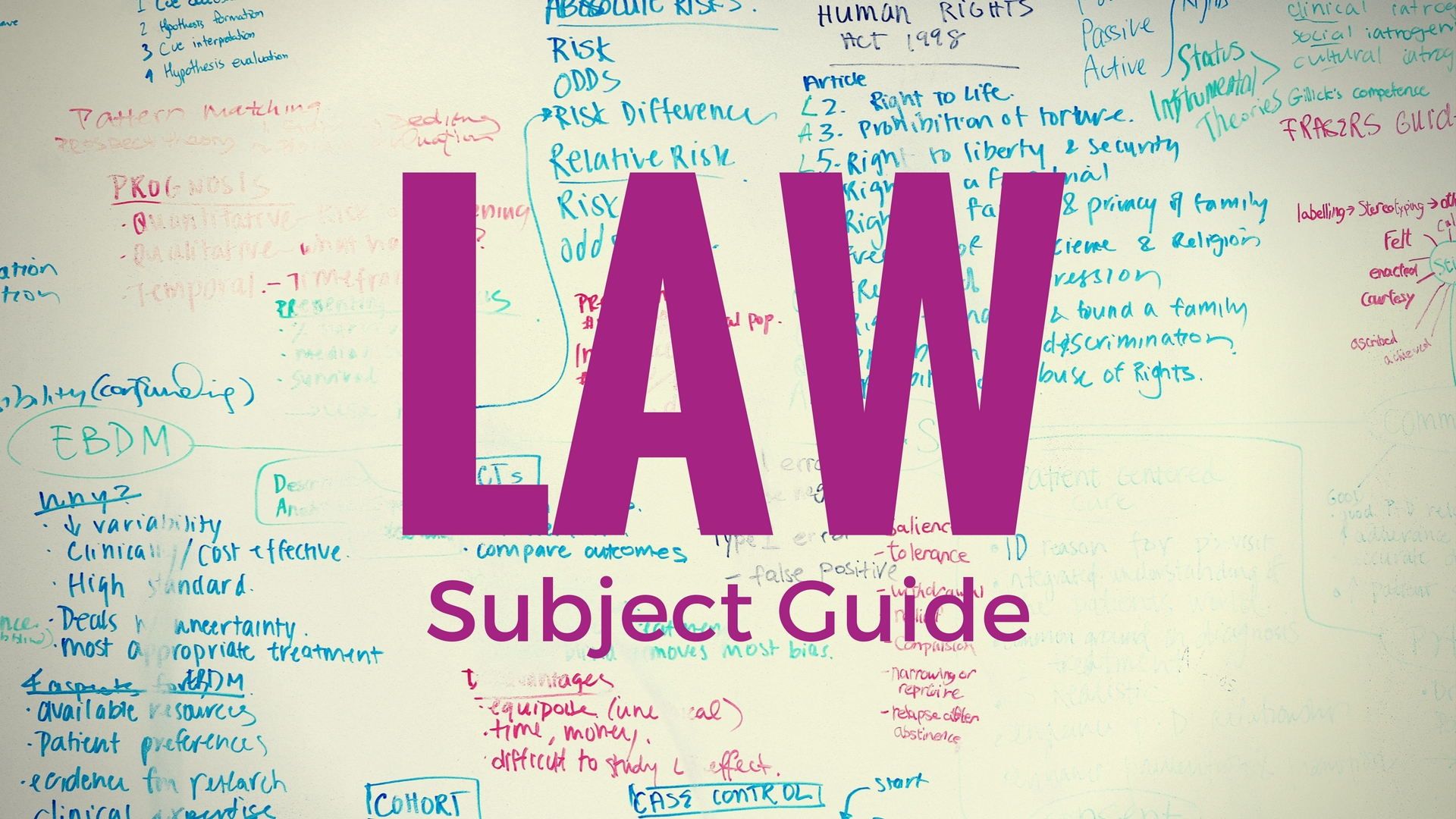 Law Subject Guide
