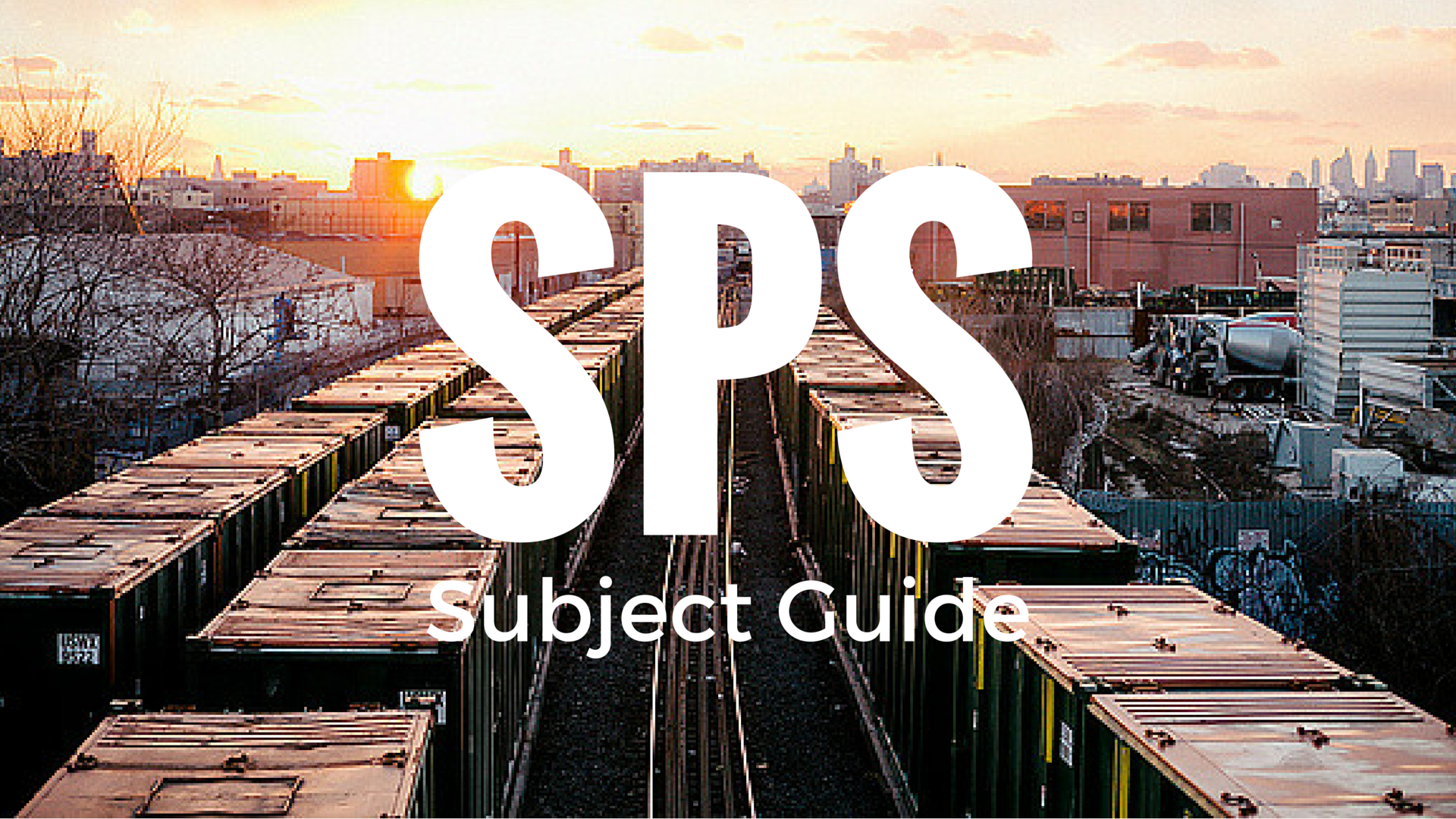 SPS Subject Guide
