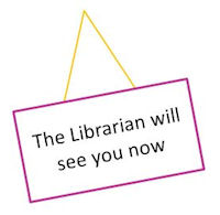 Library surgery sign