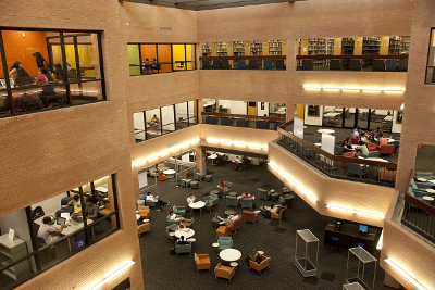 Noble Library Atrium August 2015
