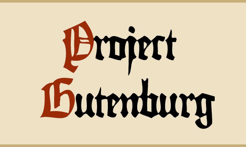 project gutenberg зурган илэрцүүд