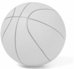 Photo of a basketball