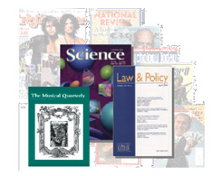 Collage of academic journals