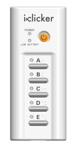 Photo of i>clicker plus