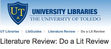 Literature review purdue university