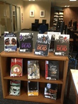 Photo of graphic novel display