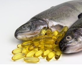 image of a fish and oil