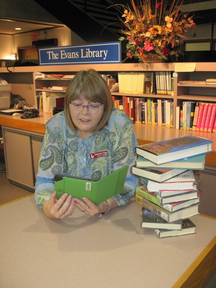 Borrowing & Using in the Evans Library