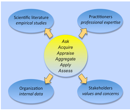 Evidence-based management graphic