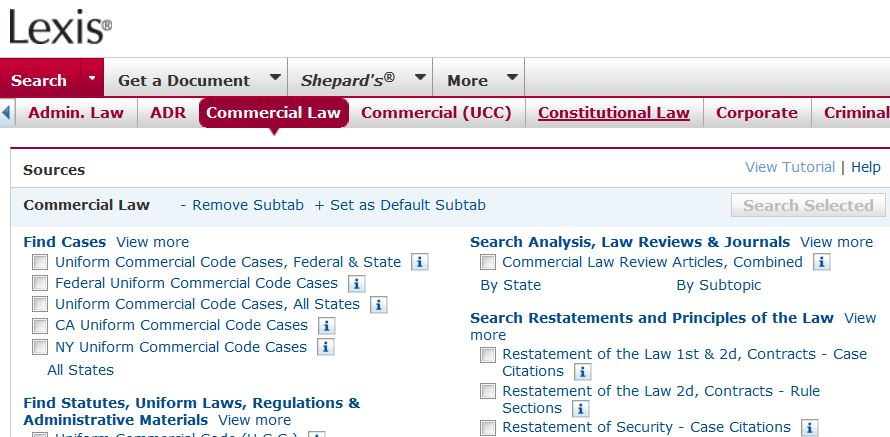 commercial law text cases and materials