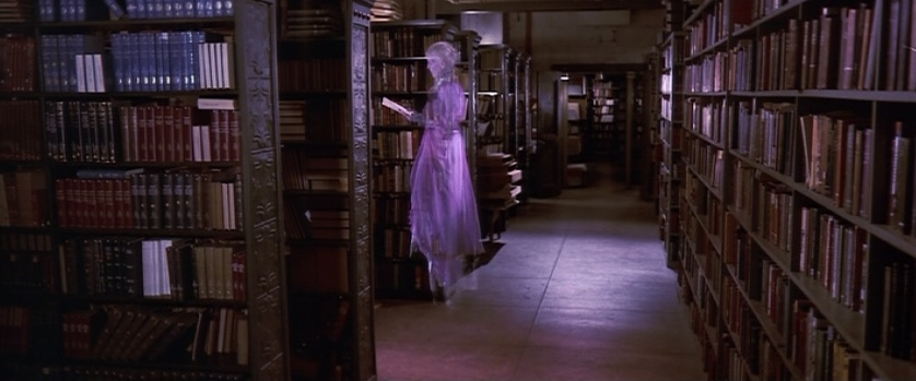 Librarian from Ghostbusters