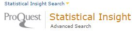ProQuest Statistical Insight