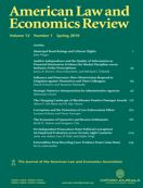 American Law and Economics Review