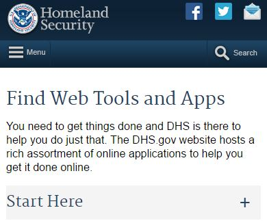 Find Web Tools and Apps