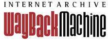 Internet Archive Way Back Machine