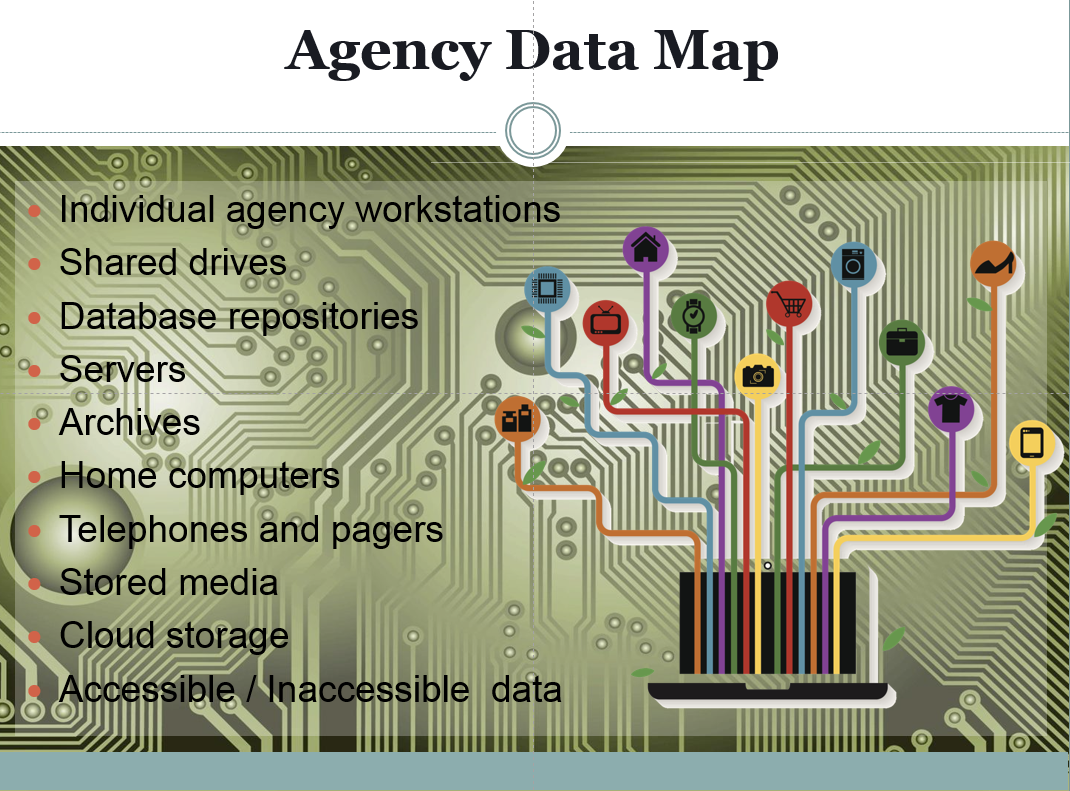 Data Maps Discovering EDiscovery Research Guides At Florida - Ediscovery data map