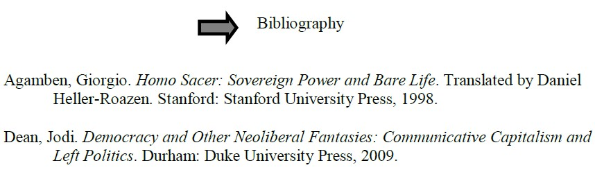 citing sources in footnotes