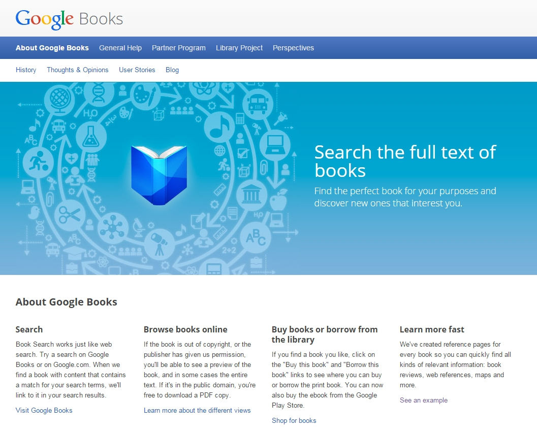 Google Books, Haithi Trust, and the Internet Archive - E