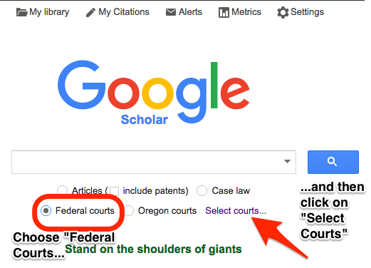select fed courts