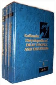 Image of the Gallaudet Encyclopedia set.