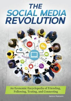 Book cover image of an encyclopedia entitled The Social Media Revolution