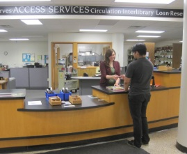 picture of access services desk