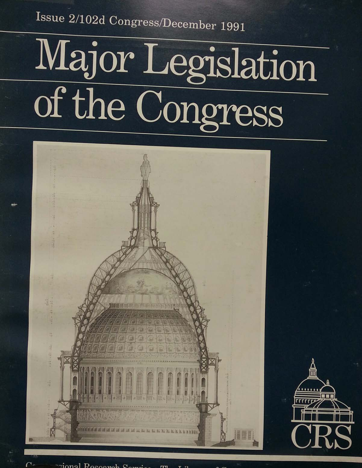 Major legislation of the Congress