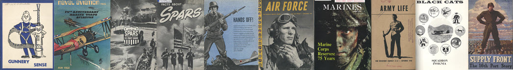 Covers of military publications