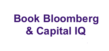 Book Bloomberg and Capital IQ